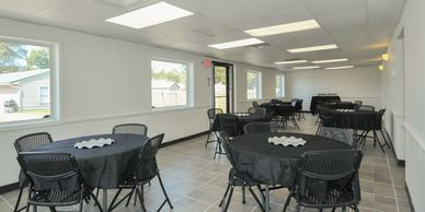 Small venue is just the right size for baby shower, bridle showers and  birthday party's