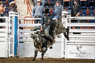 Grayson Cole Sundance Rodeo Finals Champion & Sundance Arena Winter Series 18/19 Bullriding Champion