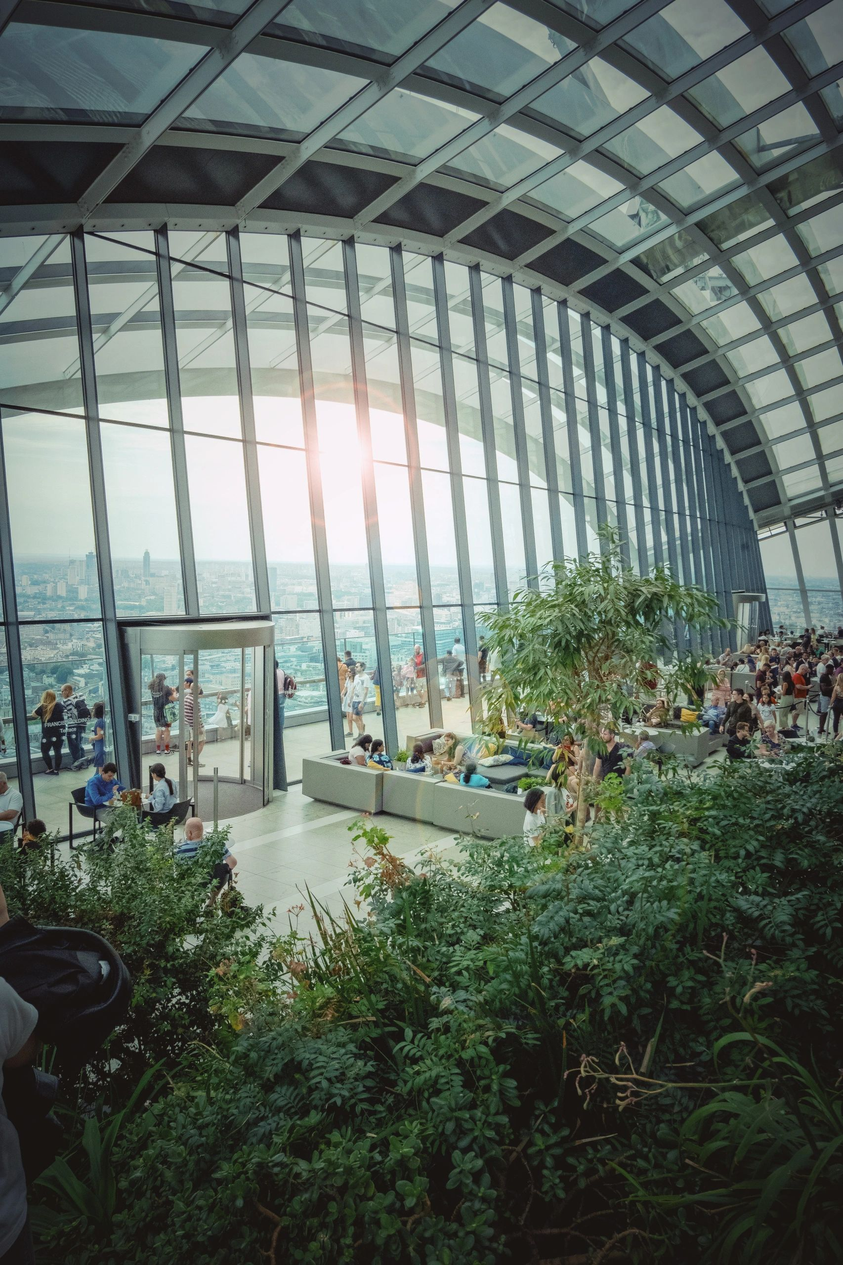 The Sky Garden. Book online for admission its FREE