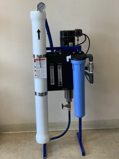 Reverse Osmosis for treatment of salt water