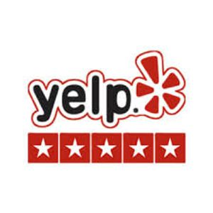 Yelp 5 Star Review Logo Yelp