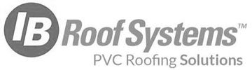 IB Roof Systems is our primary manufacturer. PVC Roofing Material on lower pitched roofing.