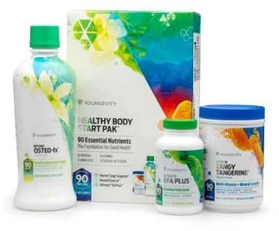 Youngevity Health Start Pak Contains ALL 90 Essential Nutrients
