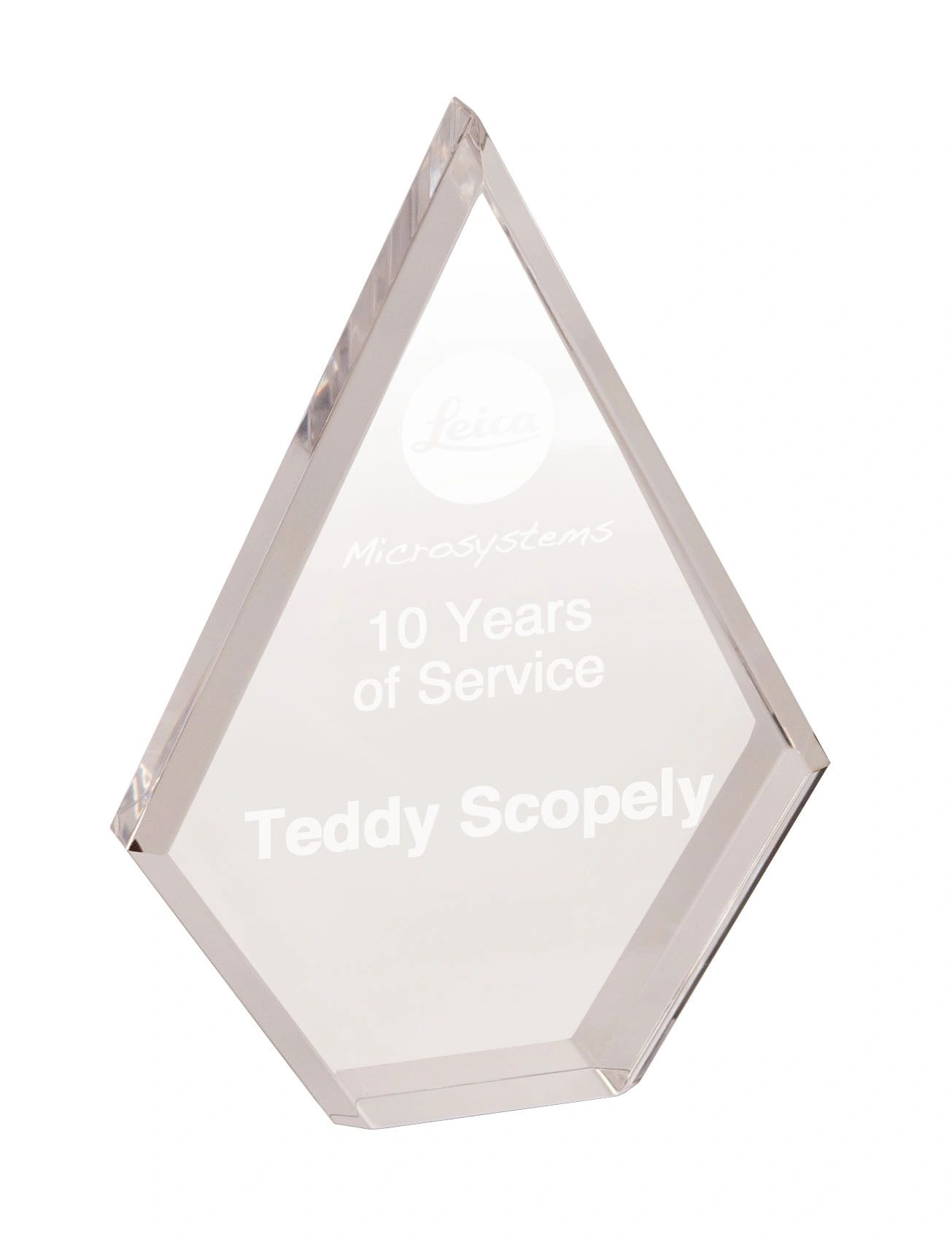 Diamond Clear Acrylic Award