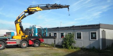 PPW Trading The use of a specialist hiab vehicle