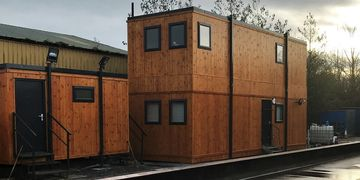 Timber Clad Buildings Ppw Trading