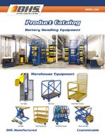 BHS catalog,forklift battery changers,forklift battery extractor,lift truck battery roller stand