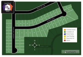 Pleasant Valley Subdivision Site Map