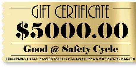 Product Description It's a Gift Certificate to use @ Safety BABY!
