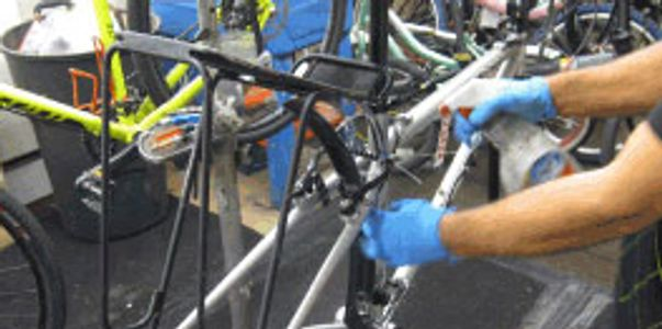 Tune Ups Flat Repair bicycle rebuild overhaul
