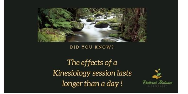 Kinesiology benefits