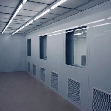 Grow room clean room HVAC design services