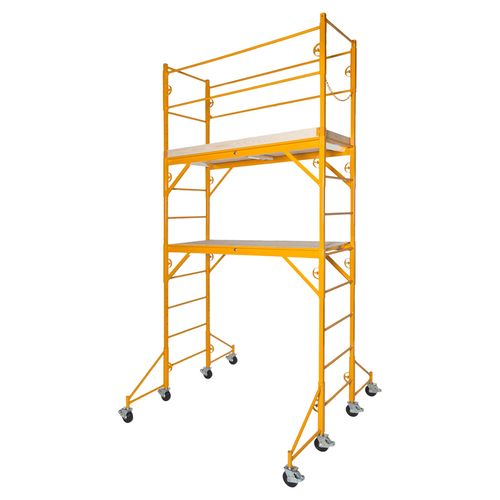 Nu-Wave Baker Style Scaffold Perry Style Scaffold Interior Mobile Scaffold  Guardrail Outriggers