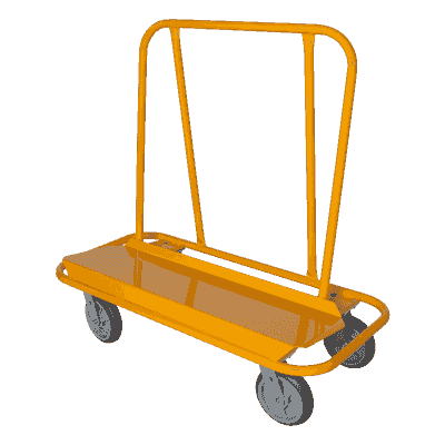 Nu-Wave Nuwave drywall shop utility cart PD-3 PD 3