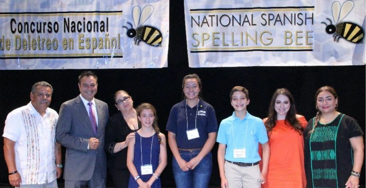 2018 National Spanish Spelling Bee Winners