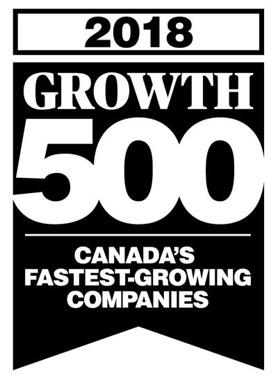 Growth500 2018 with Regional Fence Ottawa ranking 183rd