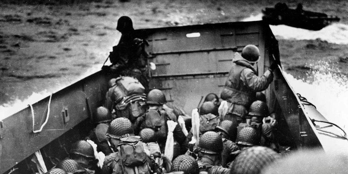 Remembering the brave men who stormed the beaches of Normandy 74 years ago on D-Day.