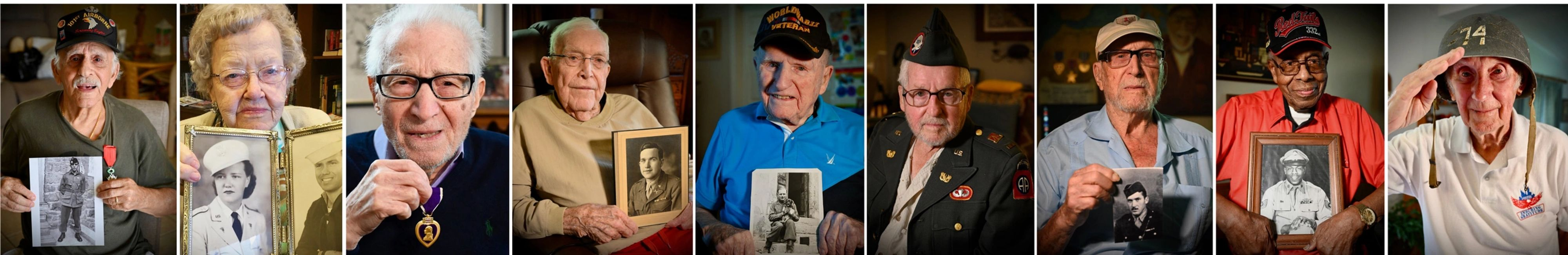 WWII Veterans History Project Nonprofit Veteran Interviews