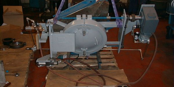 Automated ASME Quick Opening Pipeline Closure  being manufactured