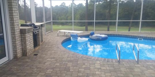 pavers, Tremron, pool deck, patio, home improvement, outdoor living space