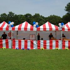 Event tents carnival canopies in the Riverside, IE and Orange counties with Socal party rentals.