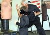 Little 3 year old boy learn self defense at Kingman Force on Force