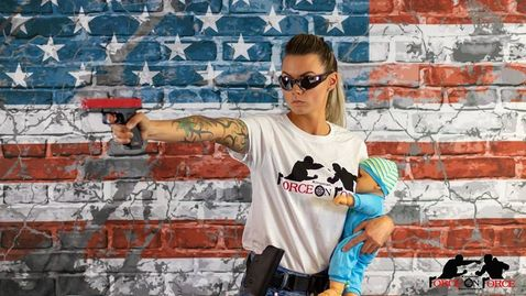 Moms with Guns Firearms training for Mothers and women with children at Kingman Force on Force