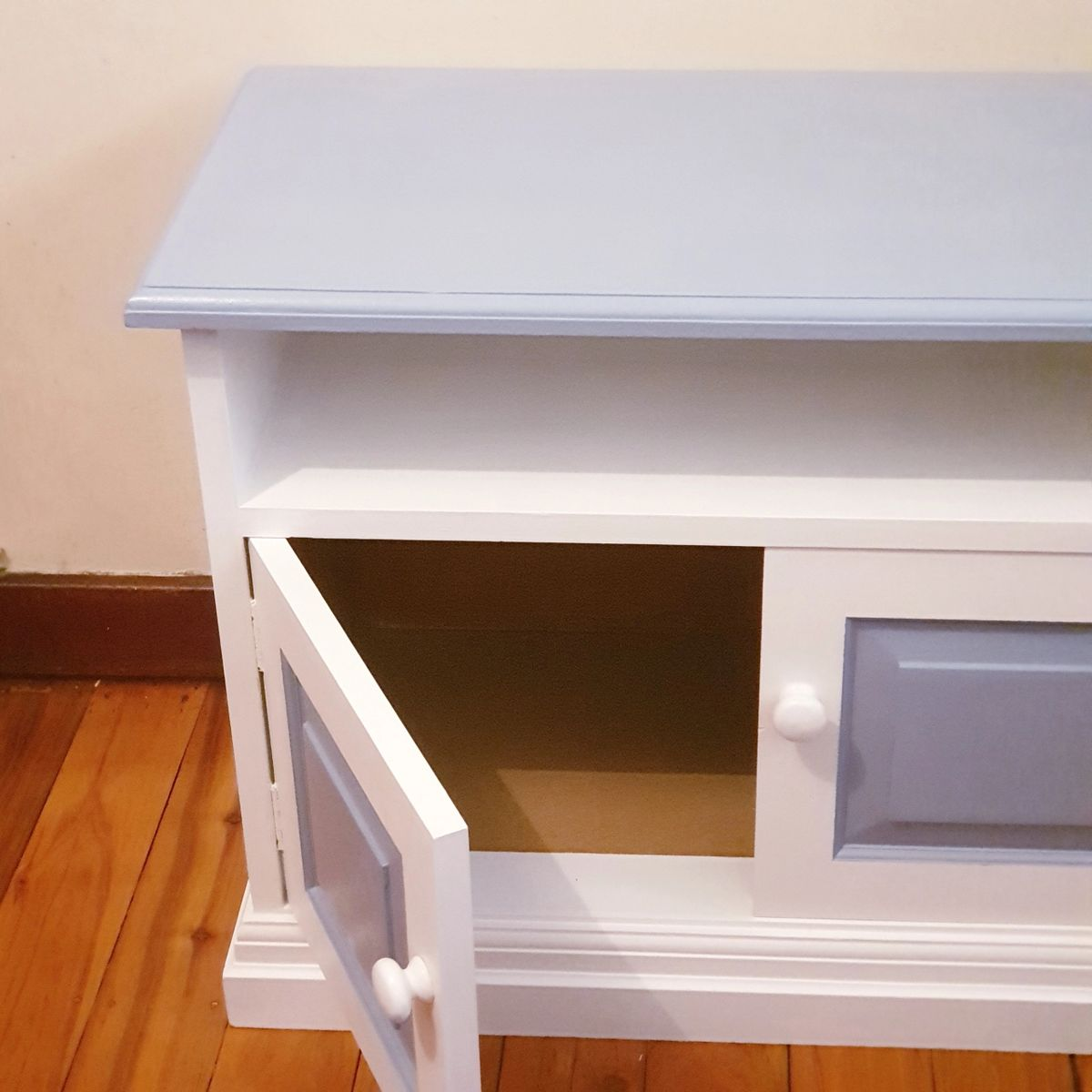 Up Cycled Beach Blue Sideboard Buffet Similar Style Available On Order