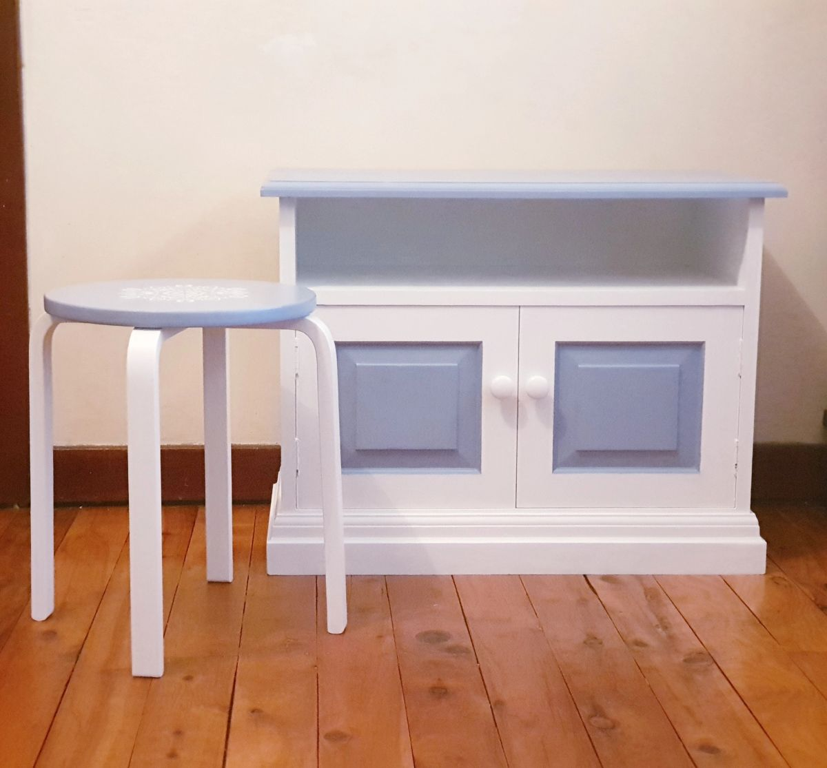 Picture of: Up Cycled Beach Blue Sideboard Buffet Similar Style Available On Order