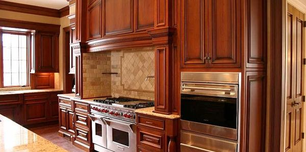With metro Cabinet Refinishers any finish is possible from simple to complex. One of our projects...