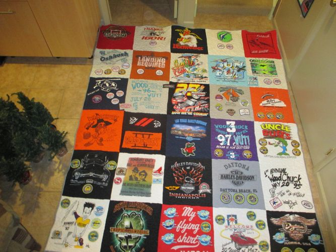 T Shirt Quilts T And F Quilting Studio