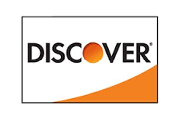 Discover card is an accepted form of payment