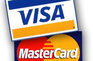 Visa & Mastercard are accepted forms of payment