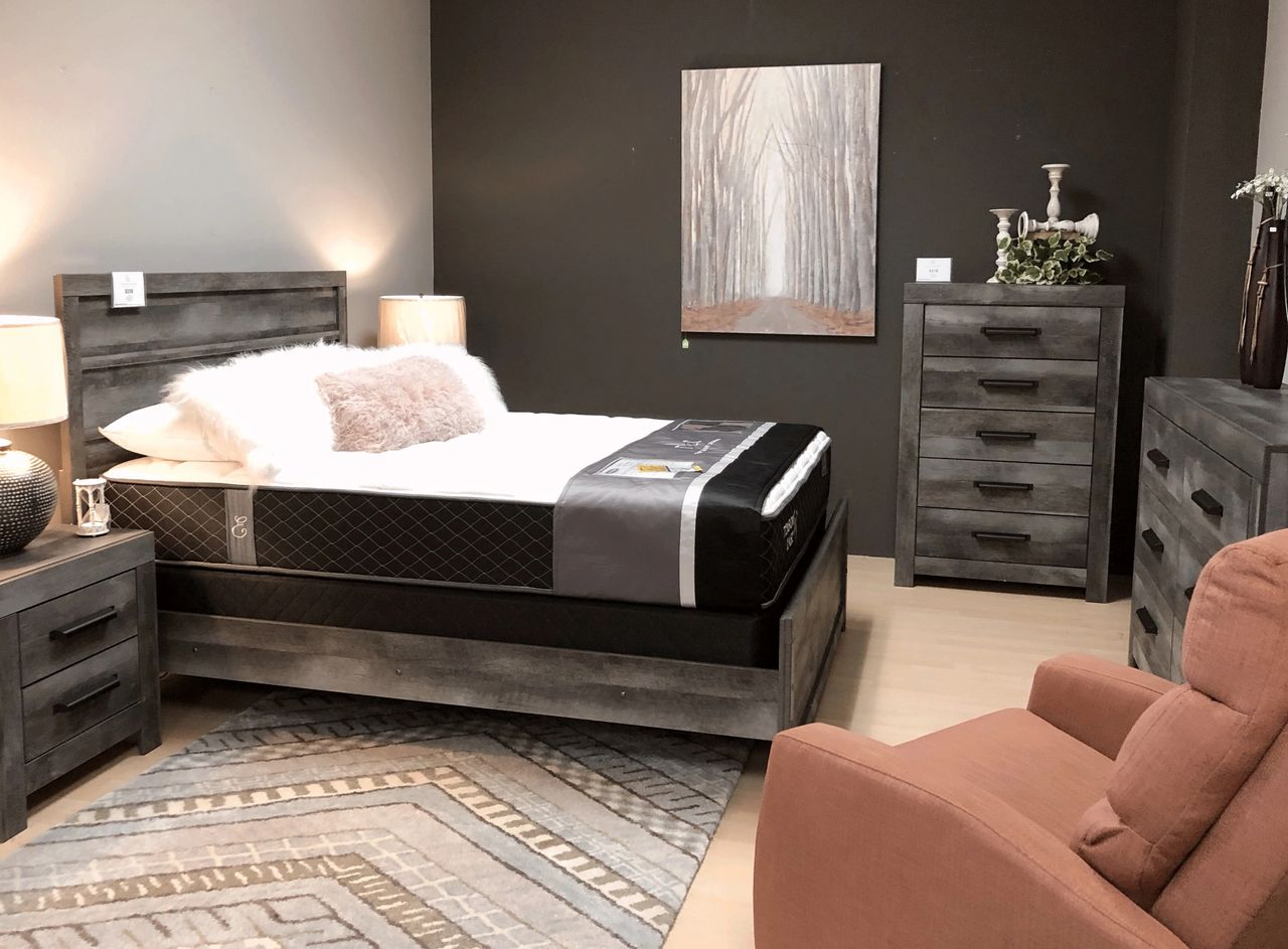 What\'s New? Modern-rustic bedroom set priced just right