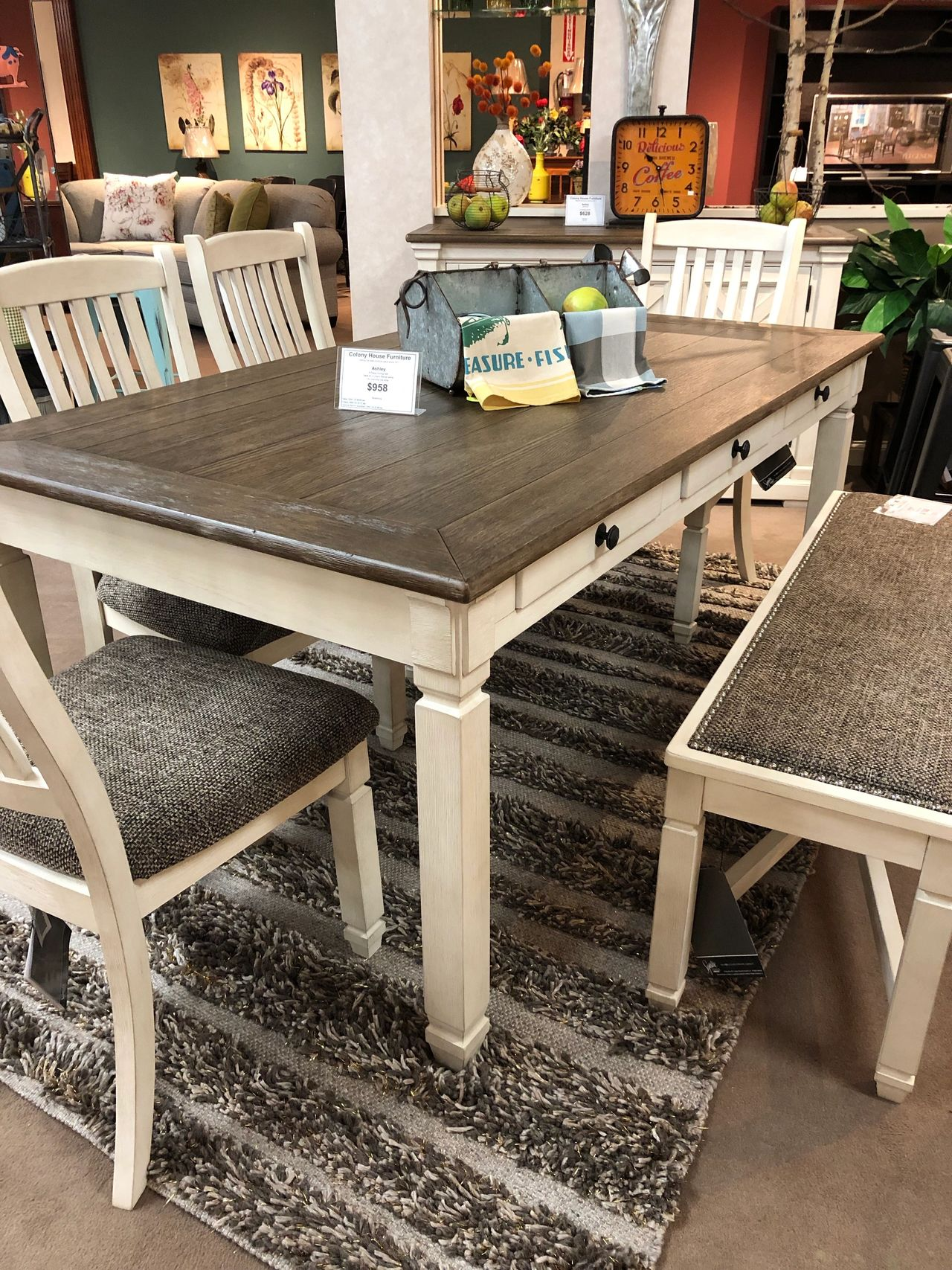 We Now Carry Ashley Furniture
