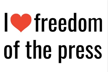 I Heart Freedom of the Press