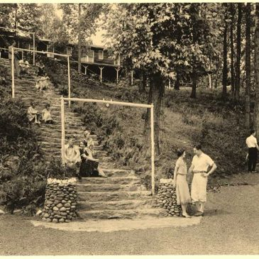 History guided walking tour of Elkmont, TN Great Smoky Mountains Gatlinburg, TN, Pigeon Forge, TN