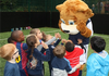 Zampa The Lion Visits The Academy