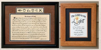 Gifts for Home, Friends and Family. Scripture Gifts and wall décor reflect faith, hope and love.