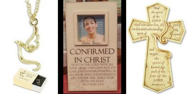 Confirmation Gifts, Baptism Gifts, Holy Communion Gifts personalized
