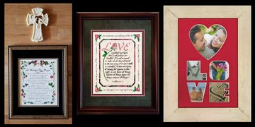 Wedding and Anniversary gifts by Christian Gifts and Home Decor by Candy