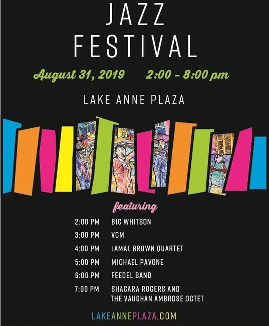 13th Annual Lake Anne Jazz and Blues Festival