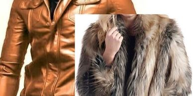leather Jacket, Fur Coat