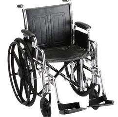 Medical Equipment Rentals standard Wheelchair heavy duty in Los Angeles