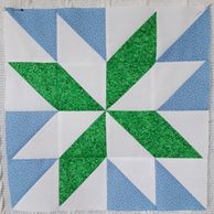Starflower quilt block sewing tutorial #sewingtutorial #HeatherMakes quilting sewing #starflower
