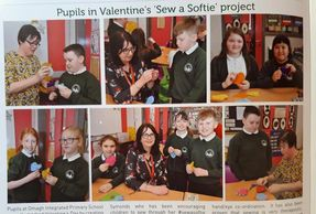 Omagh Integrated primary school #sewing