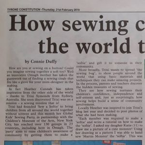 Fantastic write up. Sewing can make the world go round.