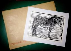 An envelope and print