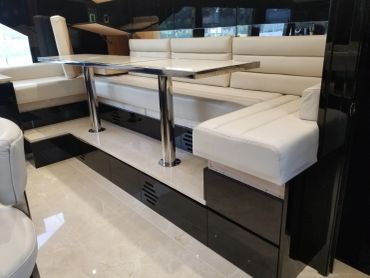 yacht boat seating