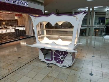 french food service cart